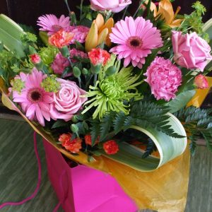 Hot, Hot, Hot! Hand-tied Bouquet