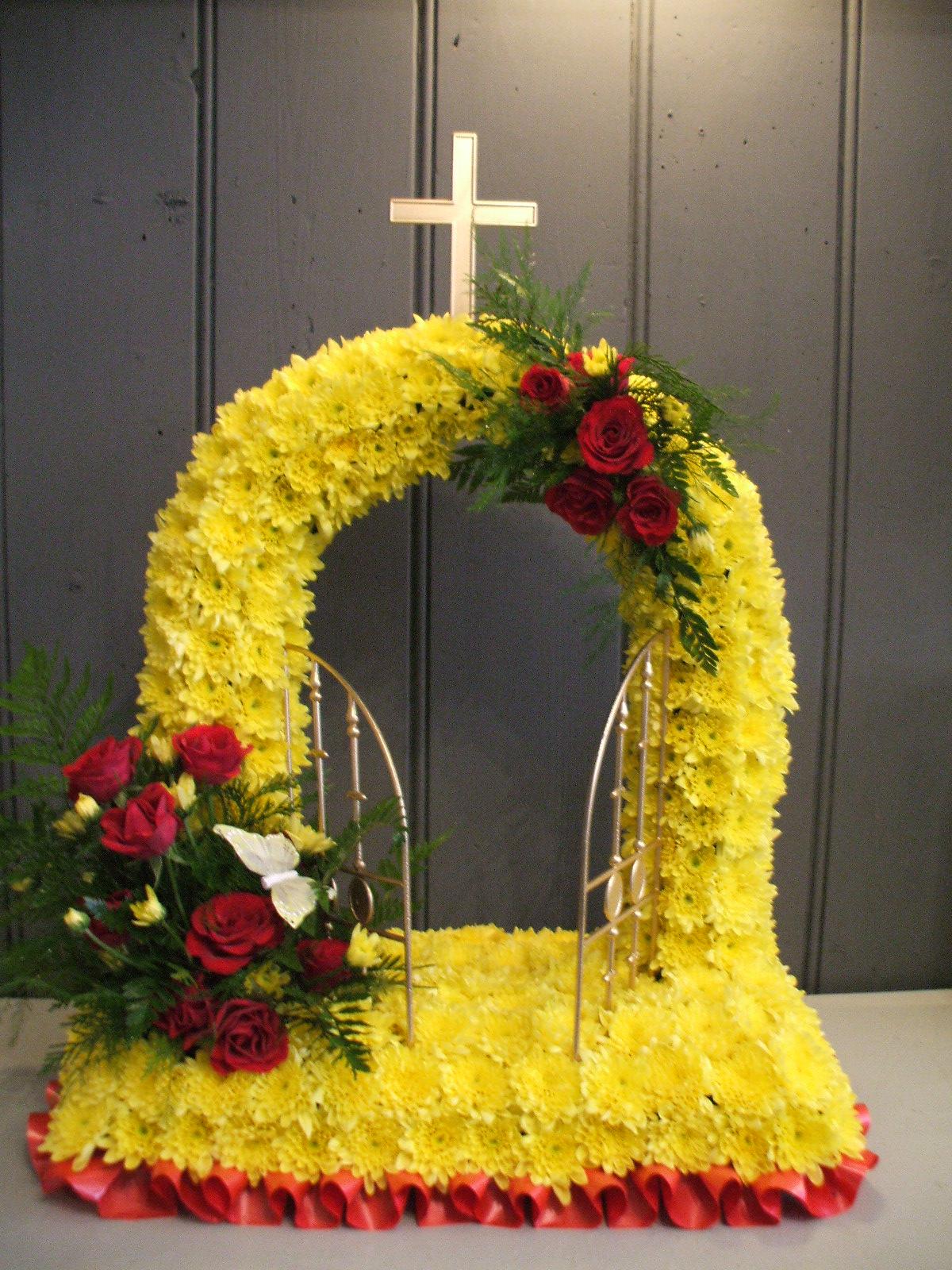 Bespoke funeral tributes stem by stem florist in folkestone bespoke funeral tributes izmirmasajfo