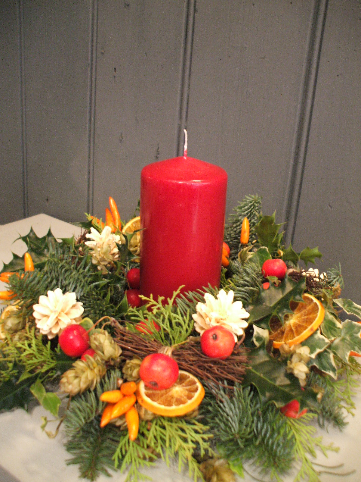 Christmas Table Arrangements Stem By Stem Florist In