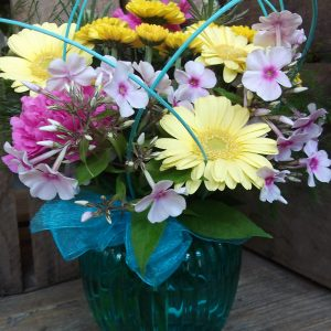 Blue Summer Vase