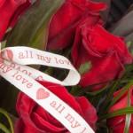 The full Dozen Rose Bouquet